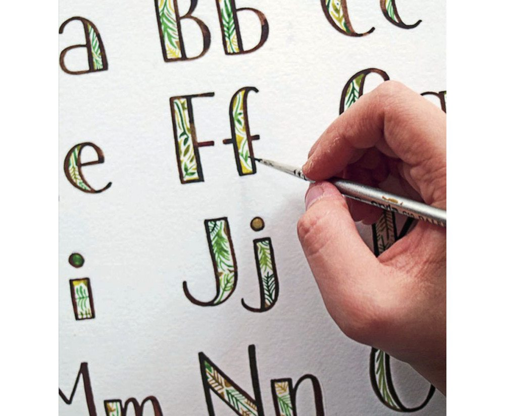 Turn Words Into Art With 'Hand Lettering A to Z'