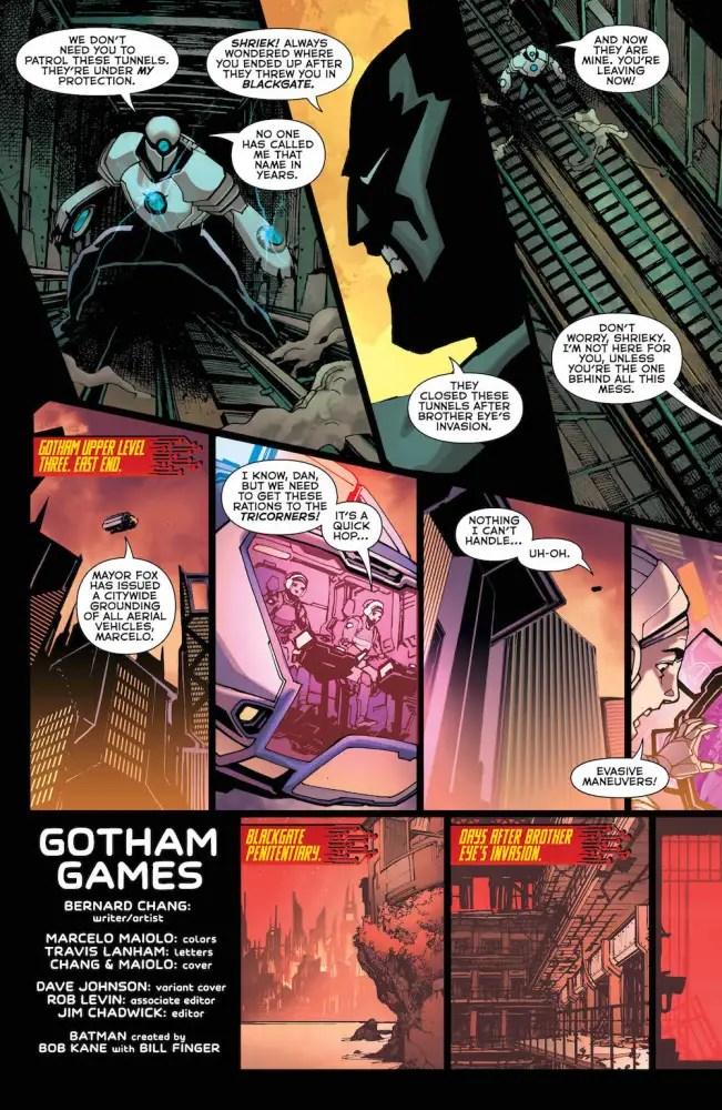 Batman Beyond Shriek 2017