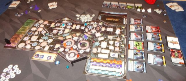 Clank! In! Space! game in progress
