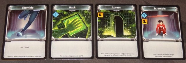 Clank! In! Space! starting cards