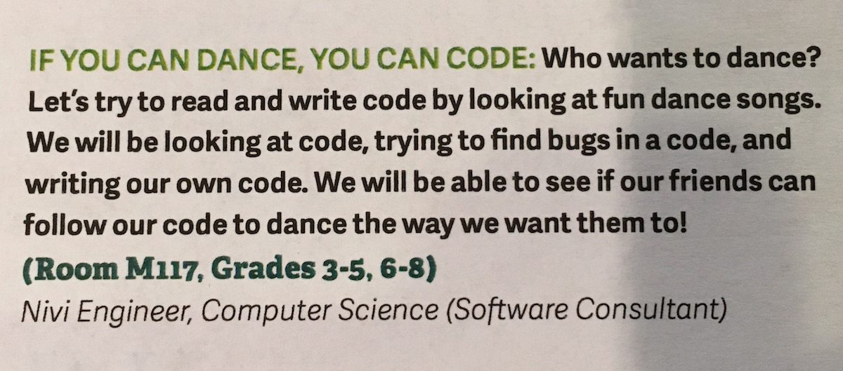 If You Can Dance, You Can Code: Workshop Guide