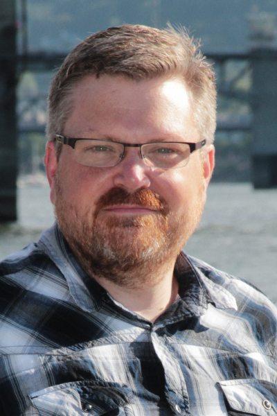 Science Fiction author Erik Wecks