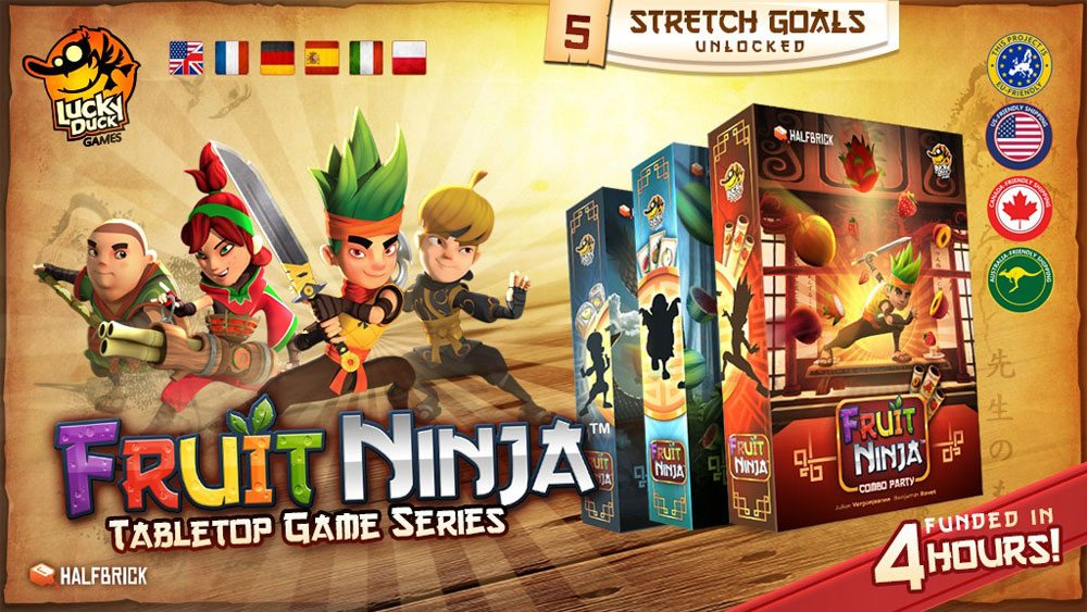 Kickstarter Tabletop Alert: 'Fruit Ninja' Makes the Jump From Digital