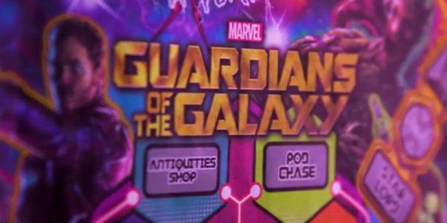 Guardians of the Galaxy Pinball