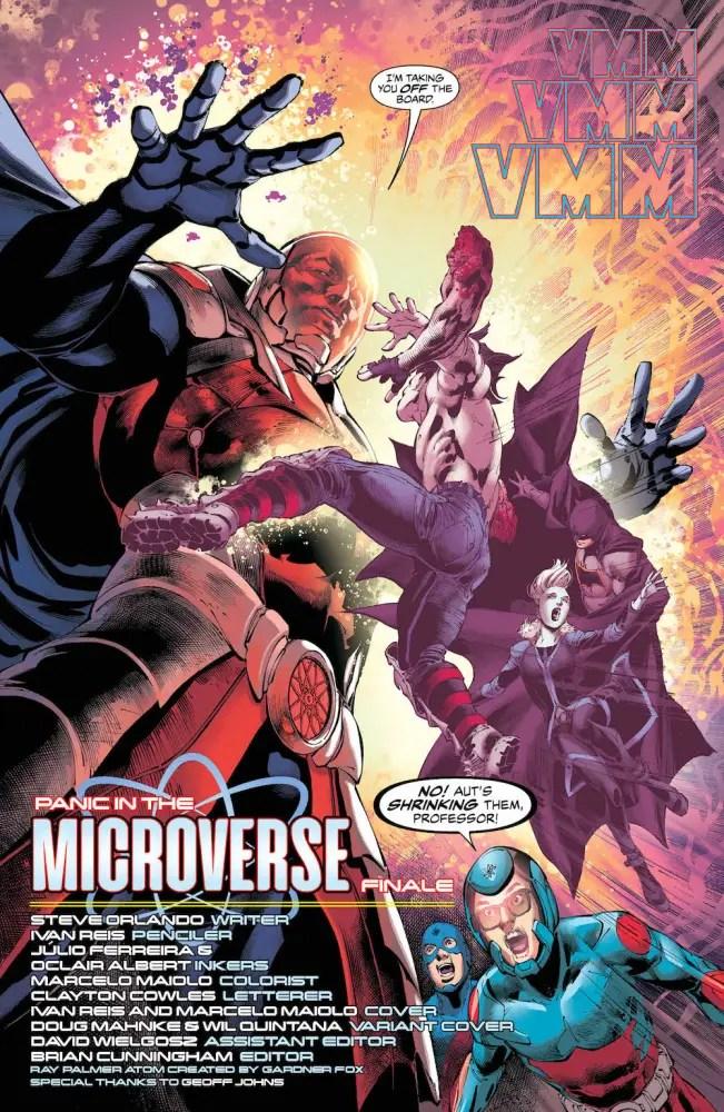 Justice League of America #17, 2017