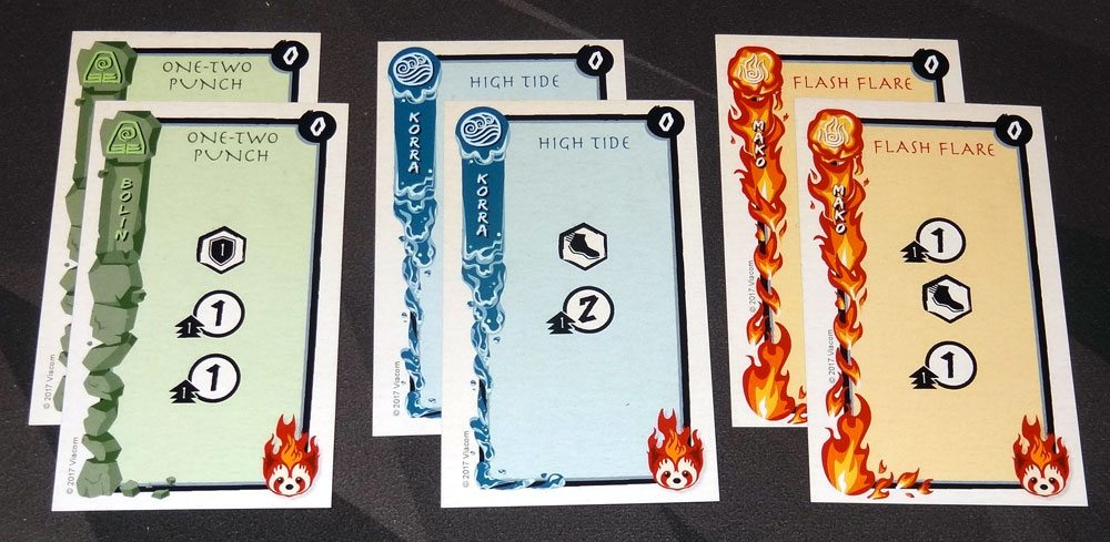 Legend of Korra: Pro-bending Arena basic cards