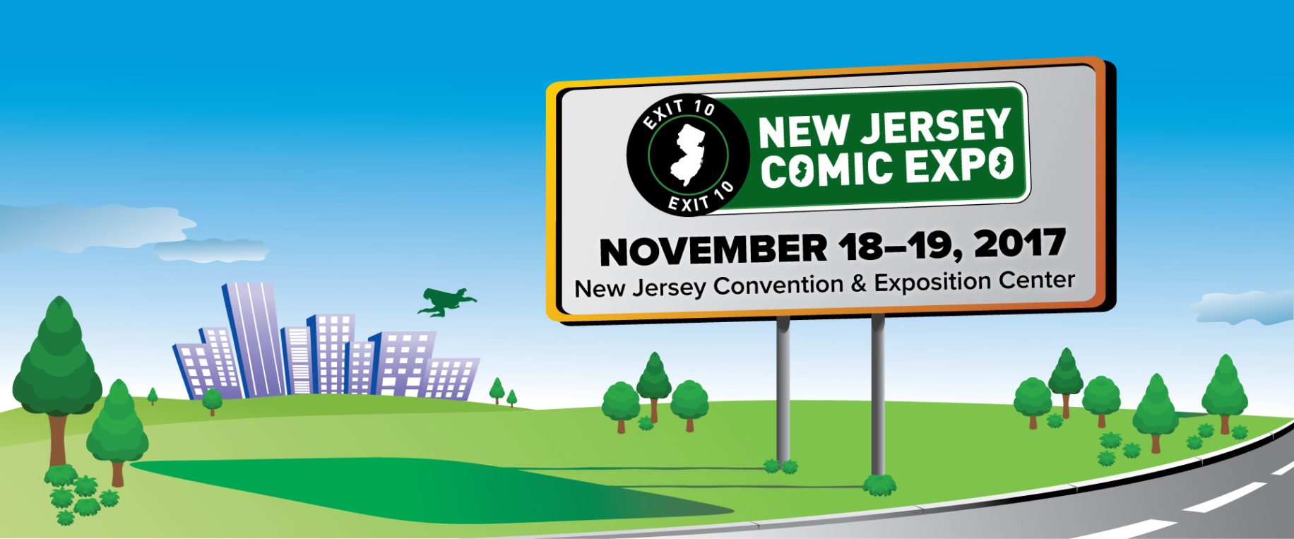 Giveaway: 3 Free Pairs of Tickets for the 3rd Annual New Jersey Comics Expo