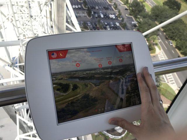 Orlando Eye iPad  Image: Dakster Sullivan