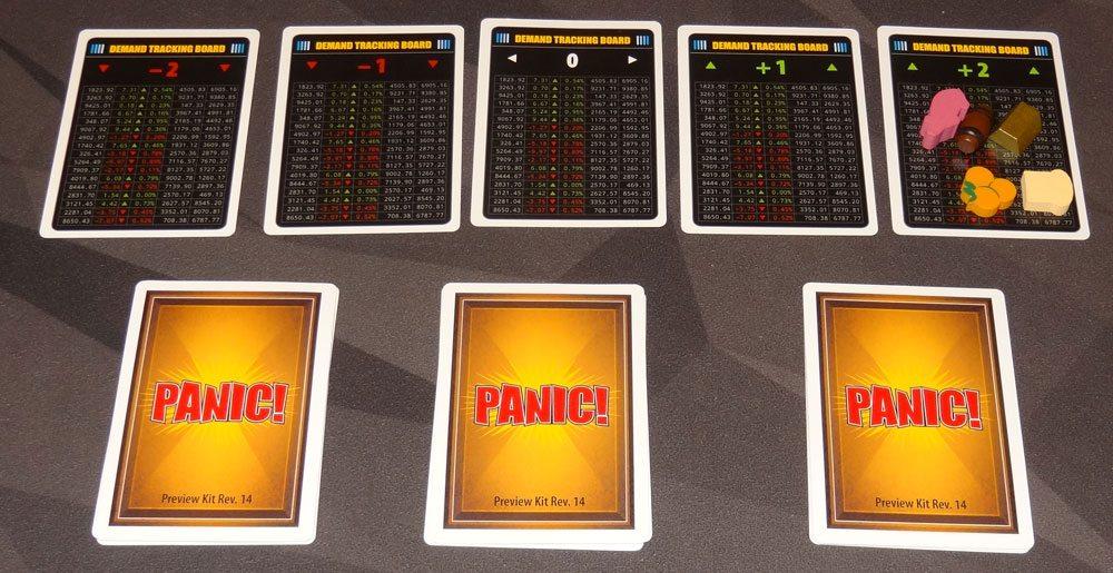 Panic! Bull Market setup for 4 players