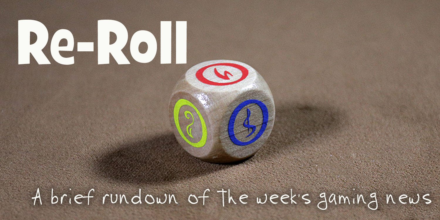 Re-Roll: This Week's Tabletop Game News for Week 43 — October 21 – 27, 2017
