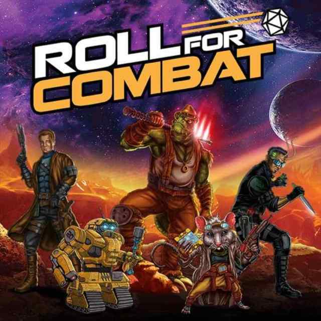 Roll For Combat Characters and Show Logo