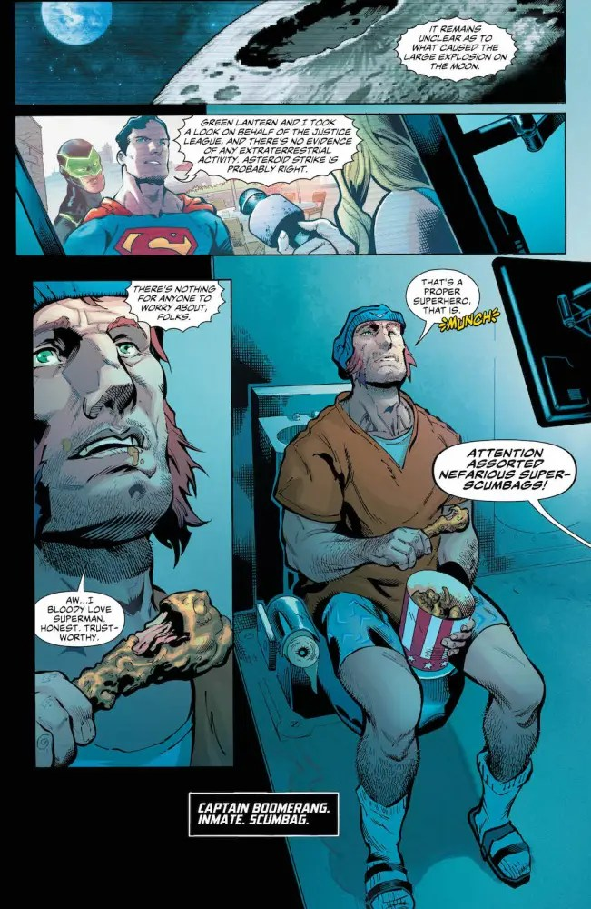 Captain Boomerang, Suicide Squad, 2017