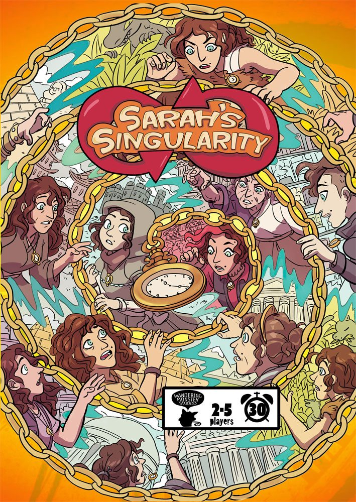 Sarah's Singularity cover