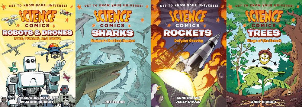 Upcoming Science Comics