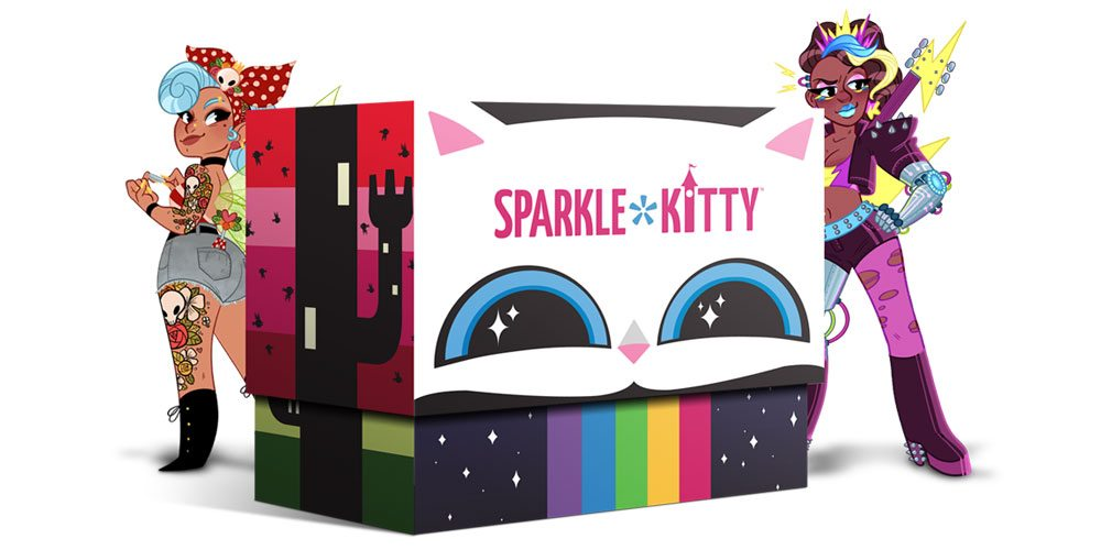 Sparkle*Kitty box
