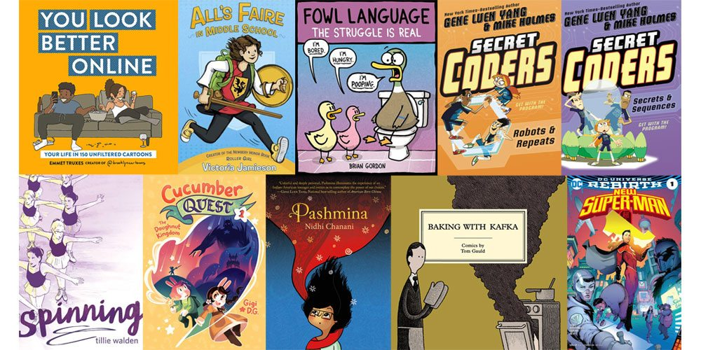 Stack Overflow: 14 Comic Books for Kids, YA, and Adults