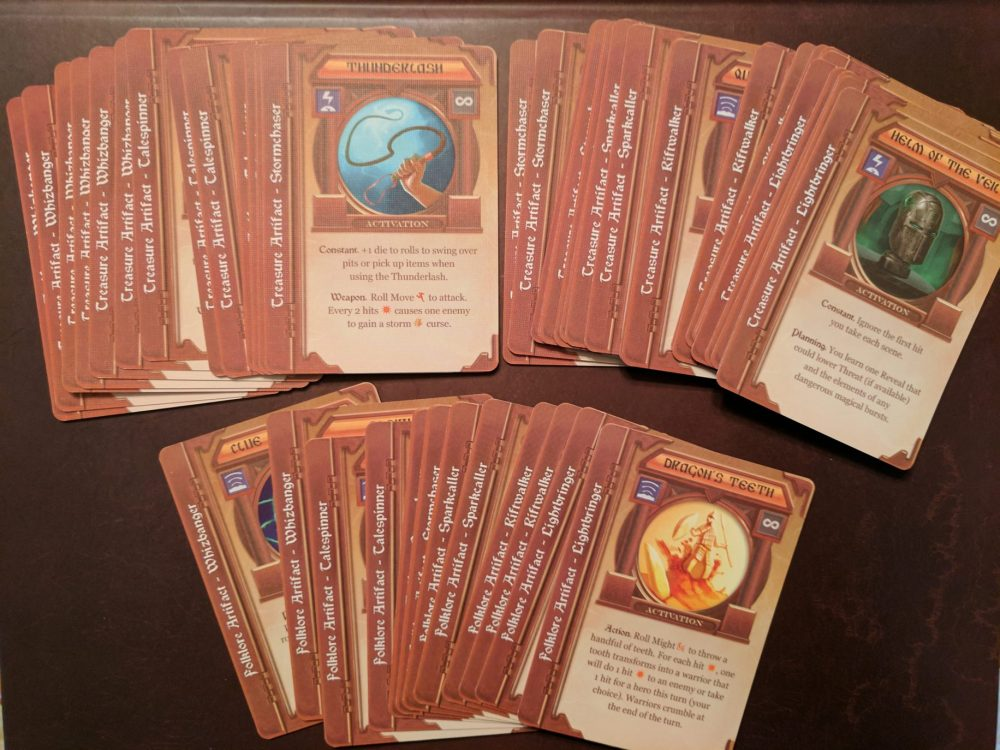 Storm Hollow Preludes Artifact Cards