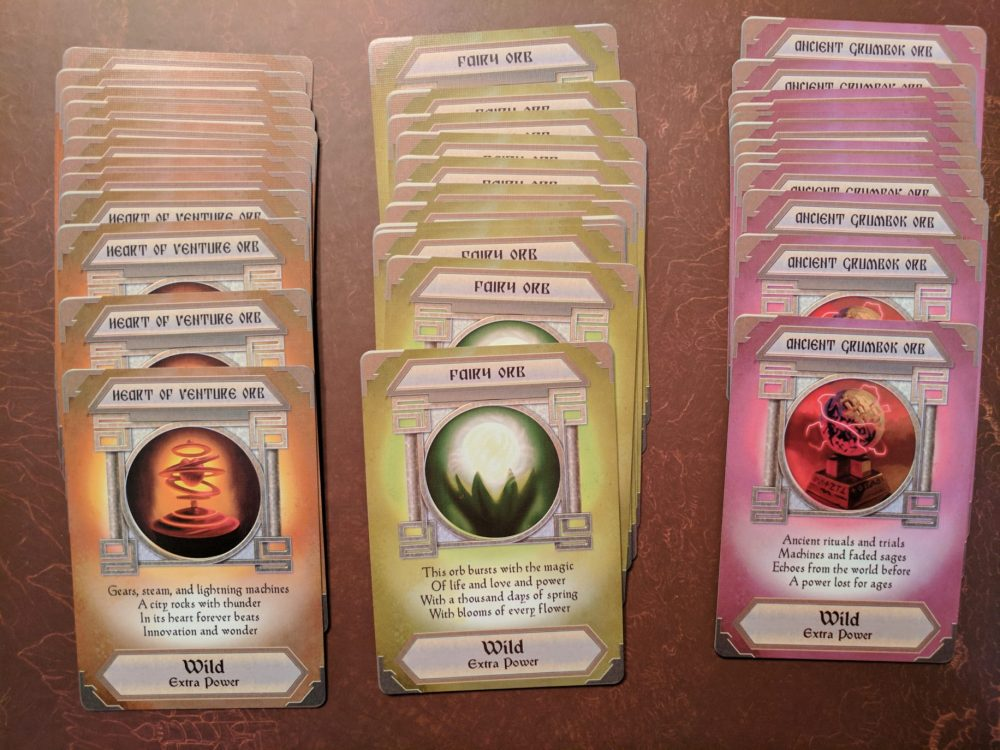 Storm Hollow Tales of a New Age Power Orb Cards Part 1