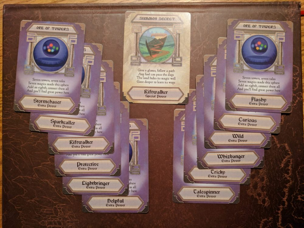 Storm Hollow Tales of a New Age Power Orb Cards