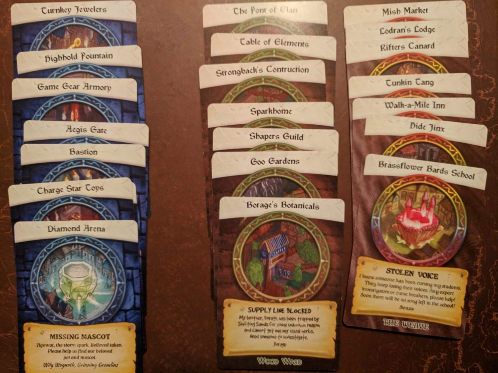 Storm Hollow Tales of a New Age Venture Rumors and Resources Cards 2 of 3