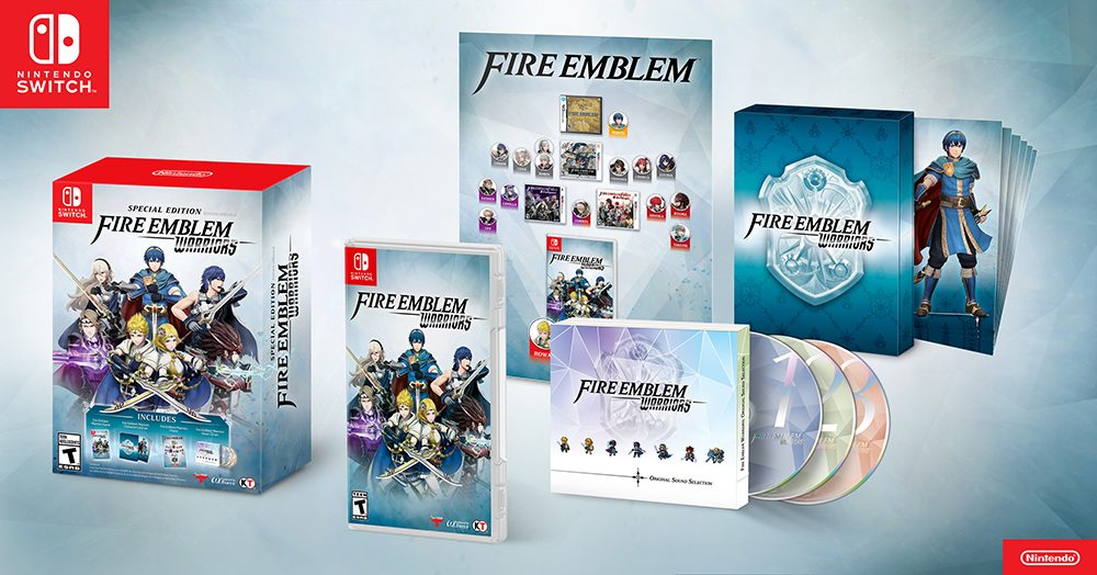 Switch 'Fire Emblem Warriors' special edition