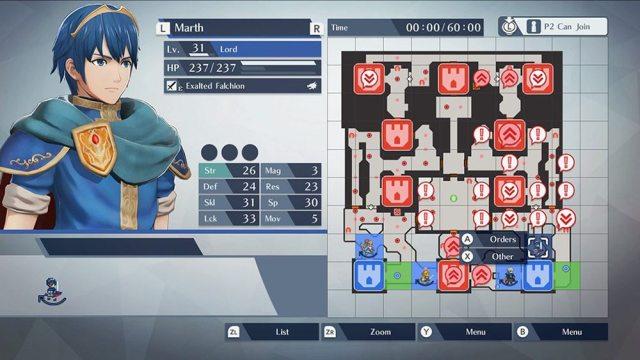 Switch 'Fire Emblem Warriors': Marth plans