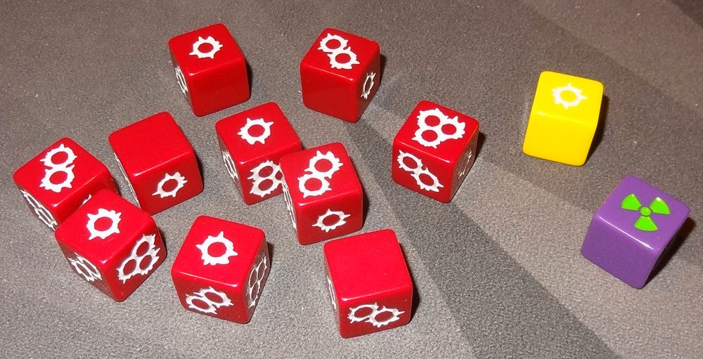 Wasteland Express dice