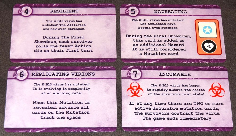 Zero Hour mutation cards