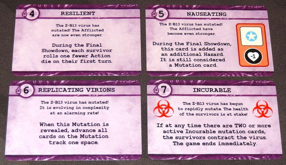 Zero Hour mutation cards