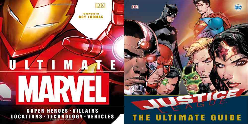 Word Wednesday! – 2 'Ultimate' Comic Book Guides from DK