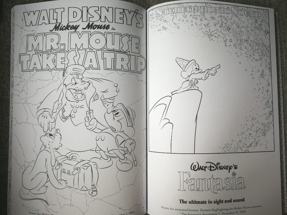 Relax With Disneys Art Of Coloring Books