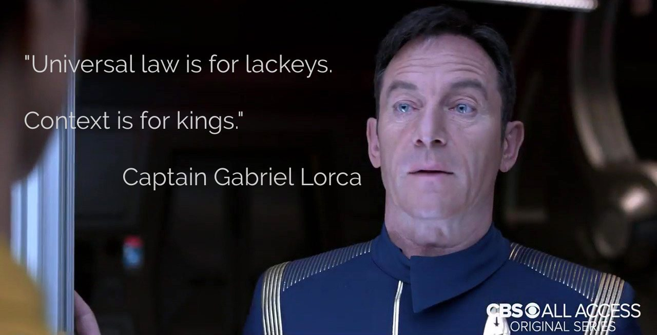 Star Trek: Discovery: Context Is for Kings