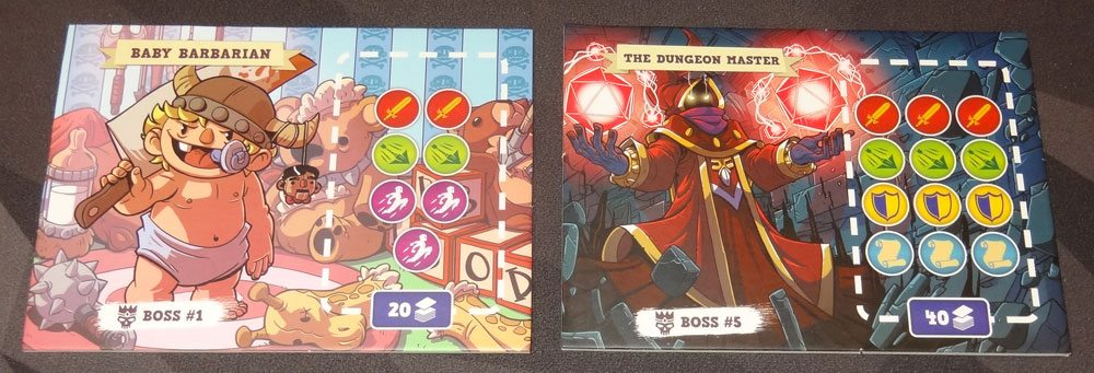 5-Minute Dungeon boss mats