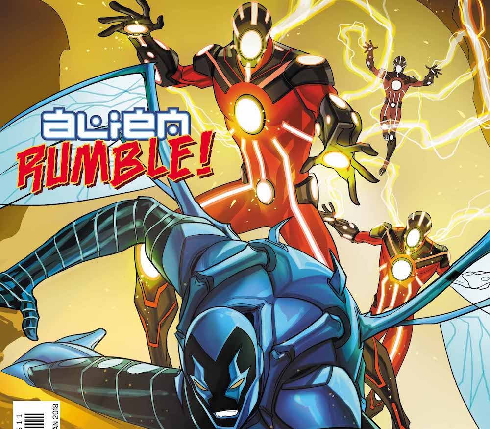 DC Comics Review – Blue Beetle #15: Alien Attack