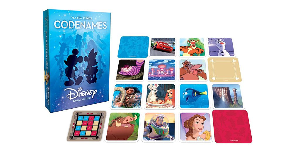 'Codenames: Disney Family Edition' Is Great for the Whole Family