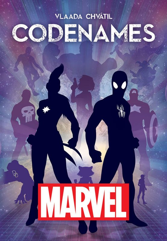 Codenames: Marvel cover