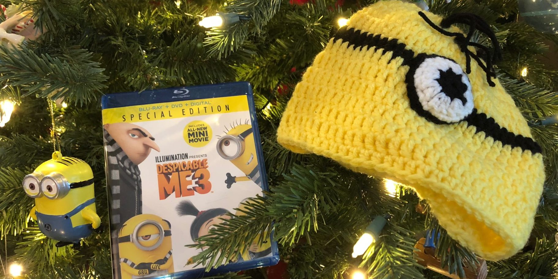 All I want for Christmas is Despicable Me 3  Image: Dakster Sullivan