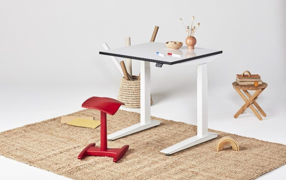 Jarvis Bamboo Adjustable Standing Desk
