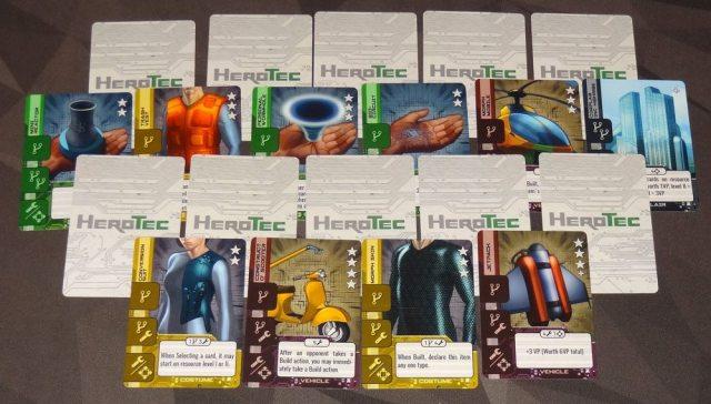 HeroTec 3/4-player setup
