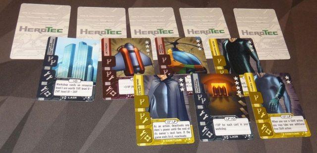 HeroTec stockpile