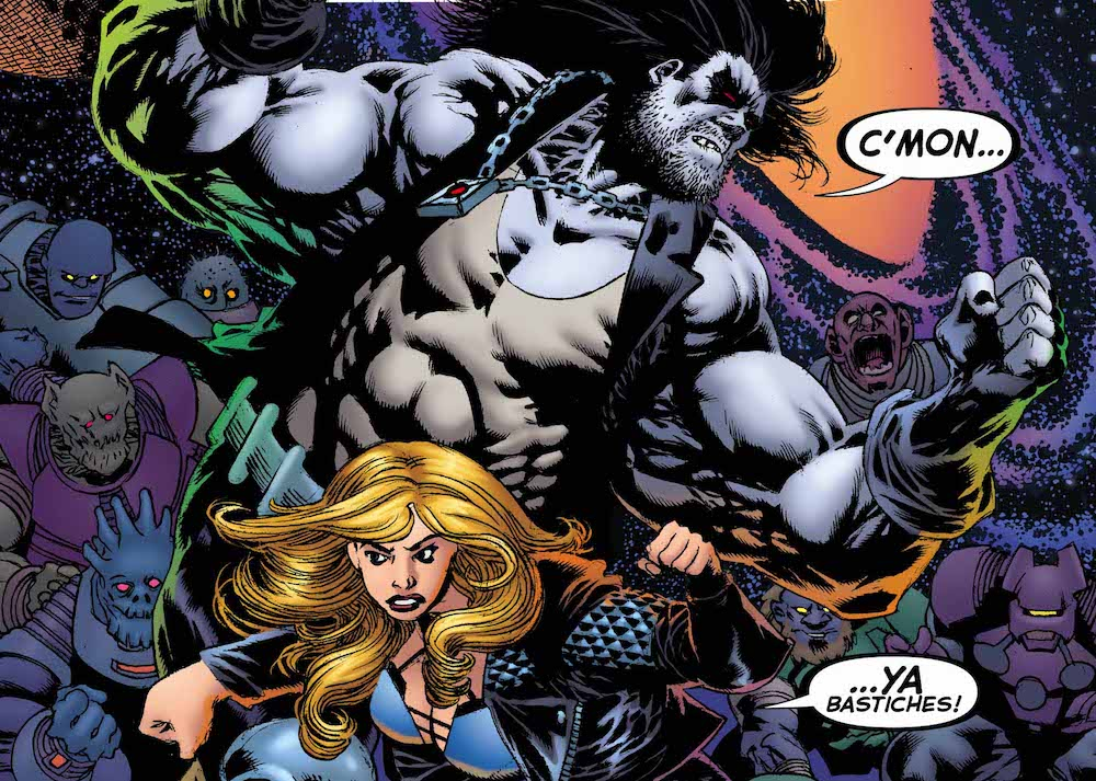 Review – Justice League of America Annual: Lobo and Canary Road Trip