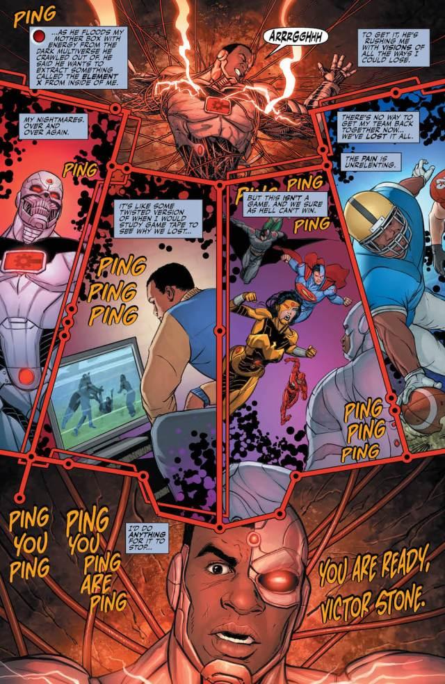 Cyborg, Justice League 33, 2017