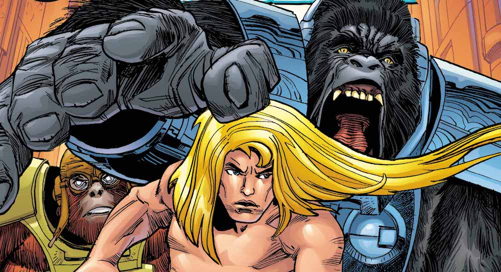 DC Comics Review – The Kamandi Challenge #11: Mom!!