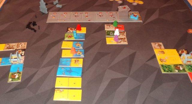 Queendomino 6-player game