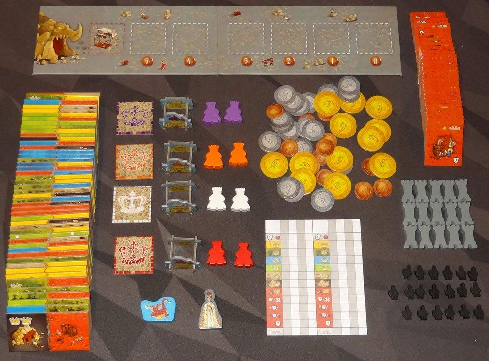 Queendomino components