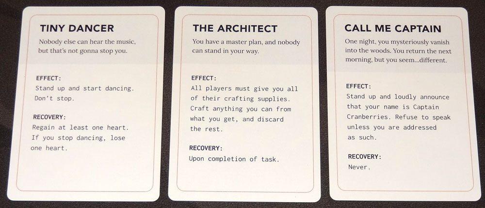 Ravine madness cards