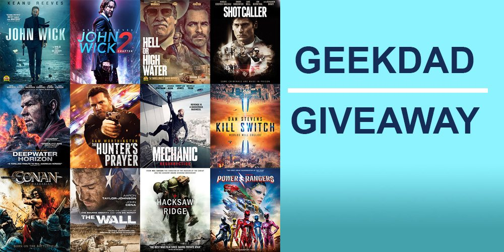 'Stuffed With Action' Lionsgate Black Friday Giveaway