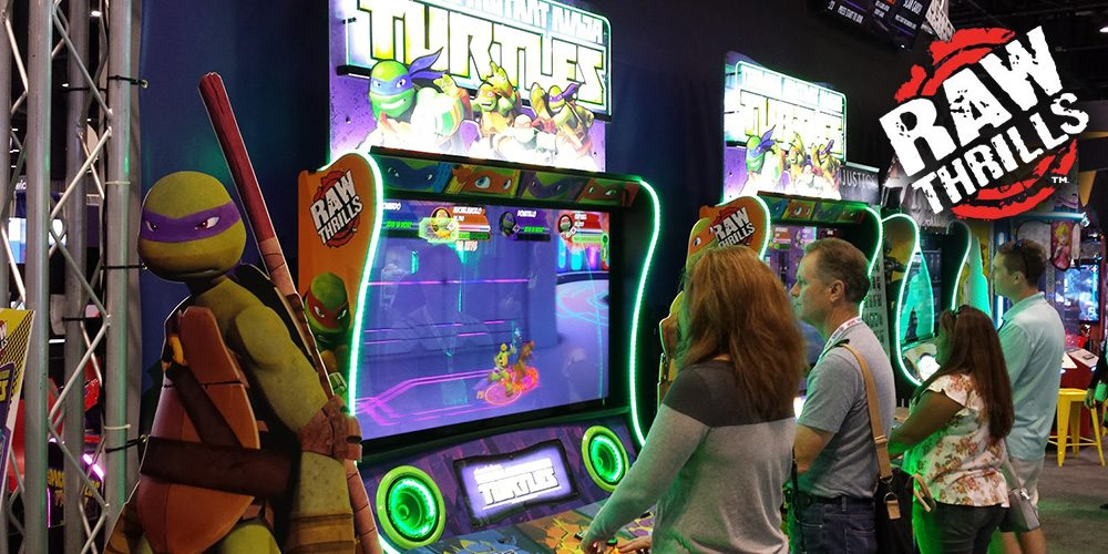 There's a New 'Teenage Mutant Ninja Turtles' Arcade Game and It's Awesome!
