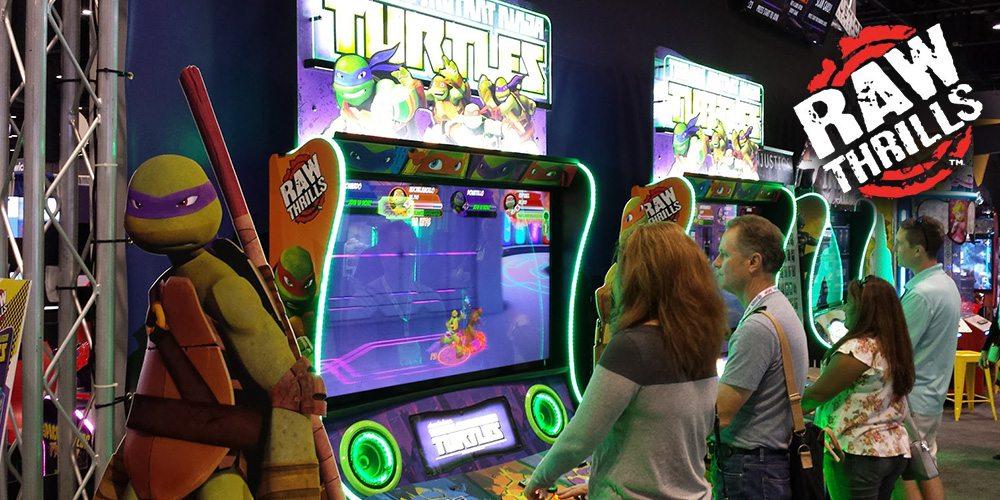 Teenage Mutant Ninja Turtles Arcade Game