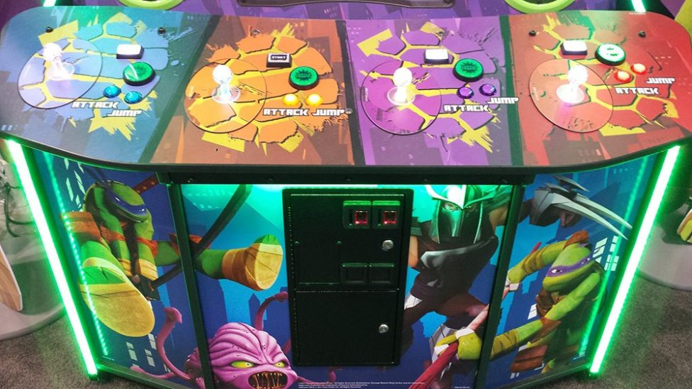 There's a New 'Teenage Mutant Ninja Turtles' Arcade Game and It's